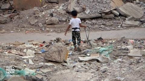 PBS NewsHour -- Struggling to survive in the rubble of Yemen's war