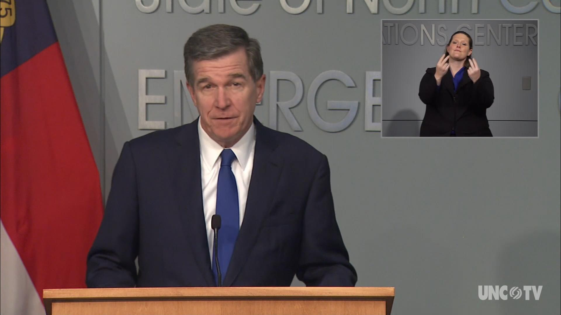 07/09/20 Governor Cooper Briefing (English)