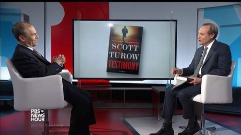 PBS NewsHour -- A war-crime mystery drives Scott Turow's newest thriller