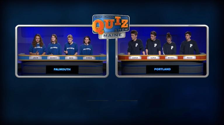 High School Quiz Show: Maine: Falmouth vs. Cape Elizabeth - Episode 212