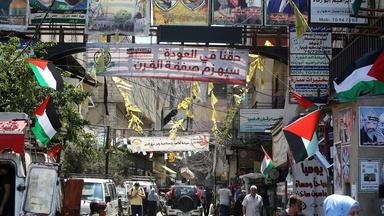 Palestinian refugees celebrate Biden win, hope for relief