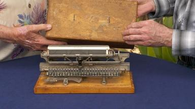 Appraisal: Merrit Index Typewriter, ca. 1890