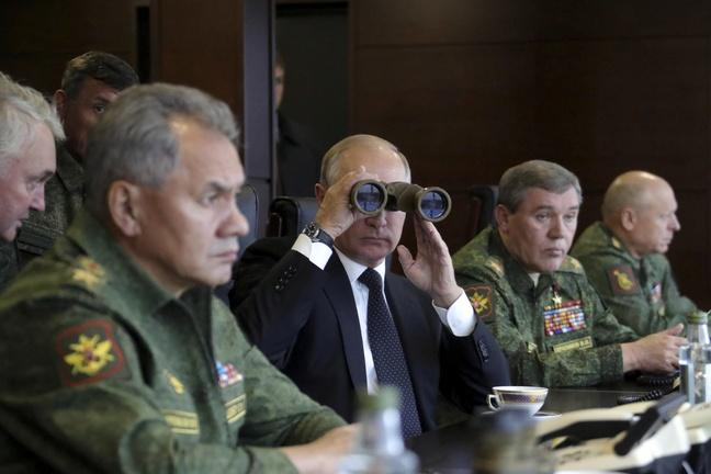 Do Russia's war games have a darker purpose?