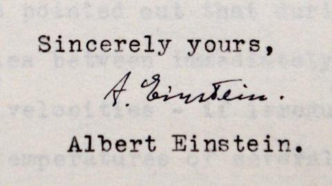 Antiques Roadshow -- S21 Ep13: Appraisal: 1943-1944 Albert Einstein Letters