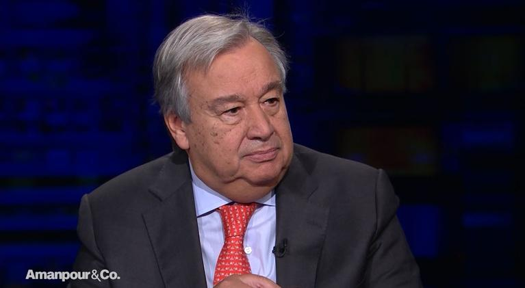 Amanpour and Company: António Guterres