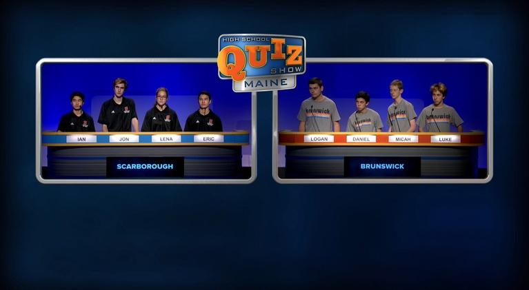 High School Quiz Show: Maine: Brunswick vs. Scarborough - Quarterfinal