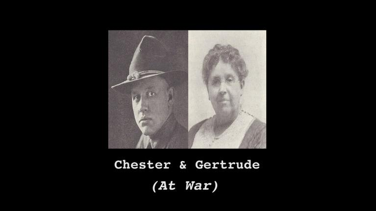 WNIN Documentaries: Chester and Gertrude (At War)