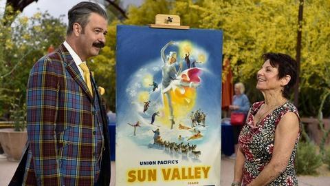 S24 E11: Appraisal: Sun Valley Poster Maquette, ca.1945