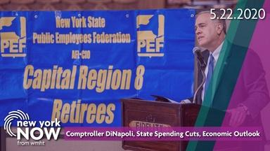 Comptroller DiNapoli, State Spending Cuts, Economic Outlook