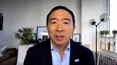 Amanpour and Company | Why Andrew Yang Left the Democratic Party