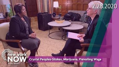 Leader Crystal Peoples-Stokes, Marijuana, Prevailing Wage