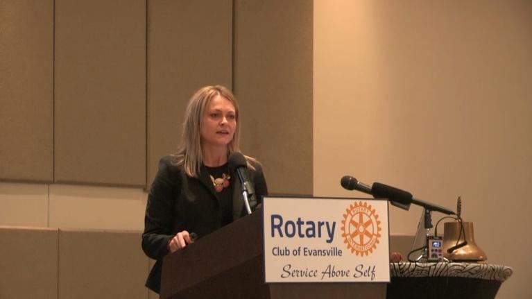 Evansville Rotary Club: Regional Voices: Misty Weisensteiner, IN Office of Tourism