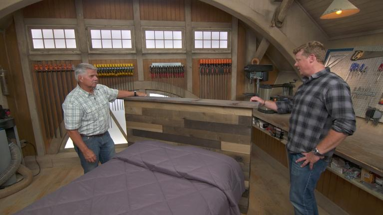 Ask This Old House: Stone Walkway, Rustic Headboard | Ask TOH