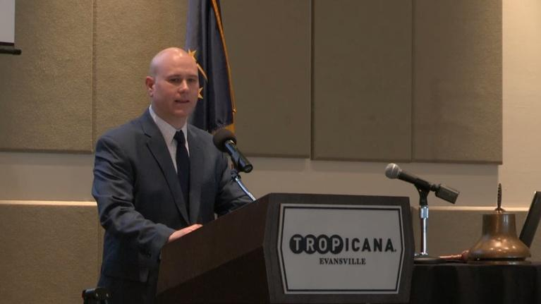 Evansville Rotary Club: Regional Voices: Richard Leger, CenterPoint Energy
