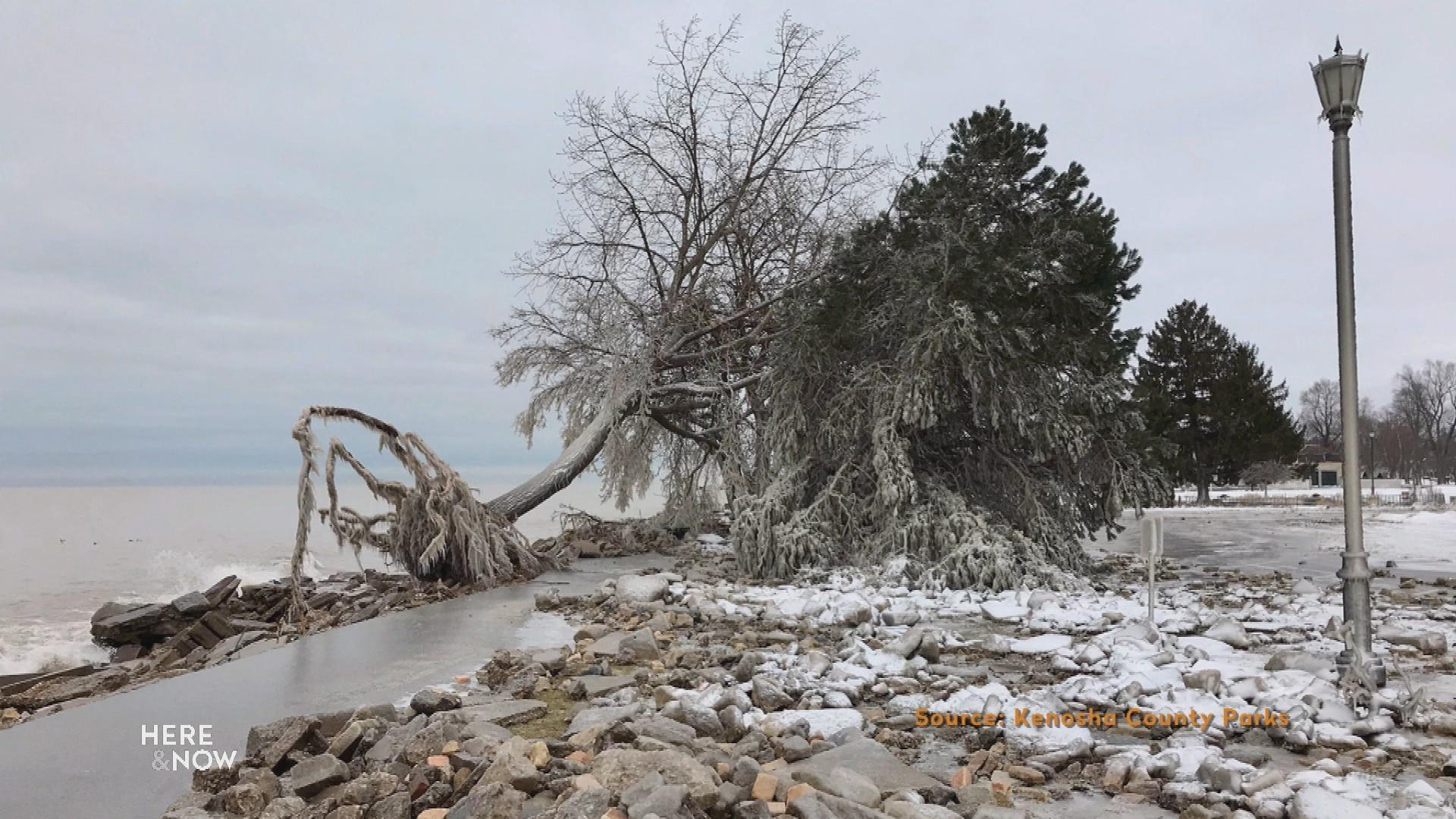 Shoreline Damage in Racine Co. Washes Up Need for Aid