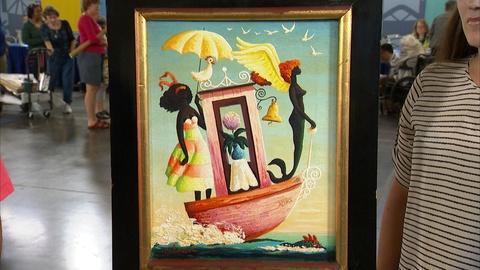 Antiques Roadshow -- S21 Ep13: Appraisal: Orville Bulman Oil Painting, ca. 1965