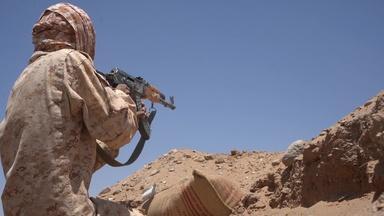 Following Yemeni soldiers' battle against Iran-allied rebels