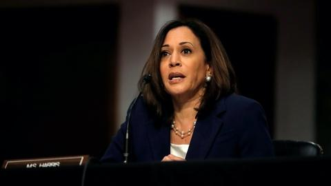 Kamala Harris' path to the Democratic presidential ticket