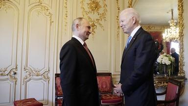 President Biden & Vladimir Putin Face Off In Historic Summit