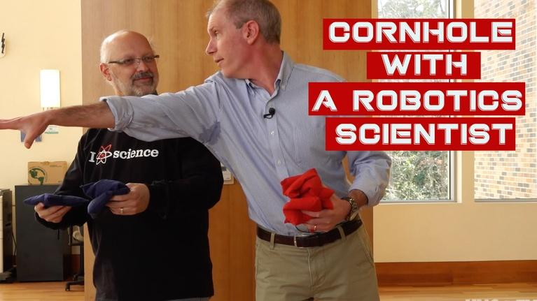 SCI NC: Cornhole with a scientist: Robot Science
