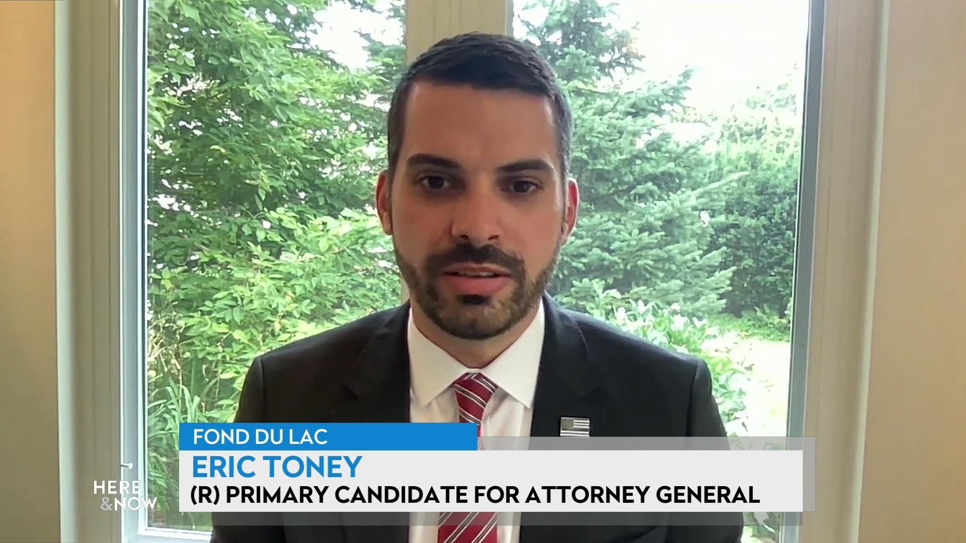 Toney on 2022 Attorney General Run