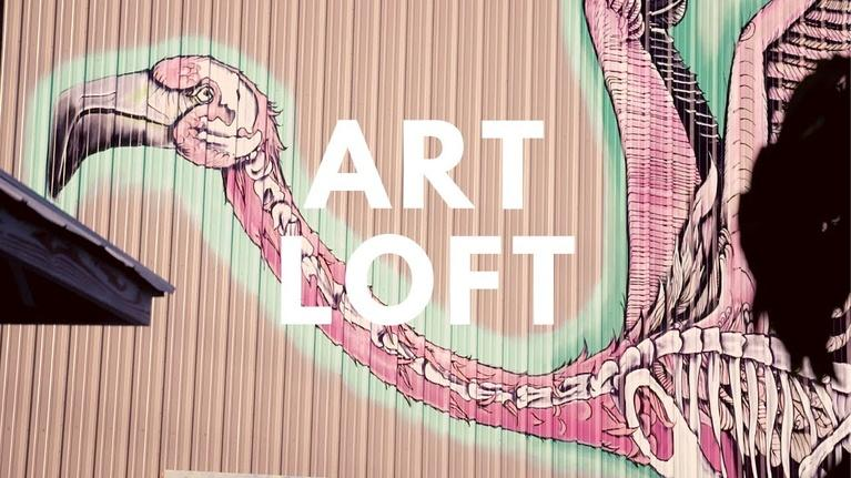 Art Loft: Street Art at oTHErside Adventure Park