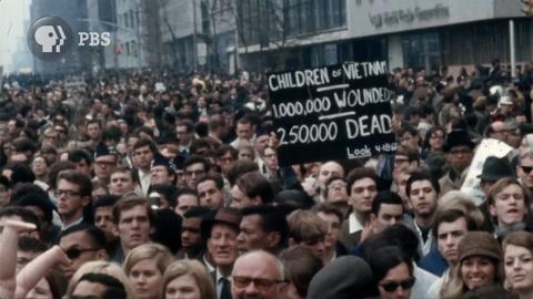 The Vietnam War | Broadcast Version -- Clip: Episode 4 | New York City March, 1967