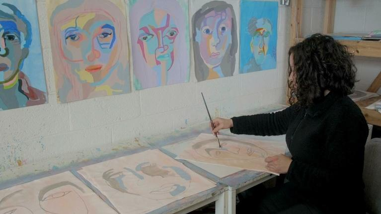 Detroit Performs : Painter Linda Ward
