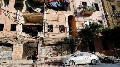 Blast plunges Beirut into homelessness, healthcare crisis