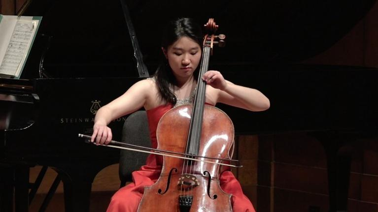 On Stage at Curtis: The Cello Speaks