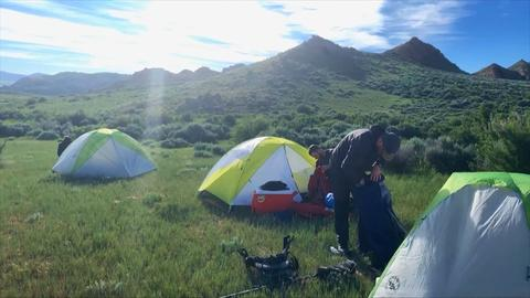 Prehistoric Road Trip -- Behind the Scenes: Camping Accommodations