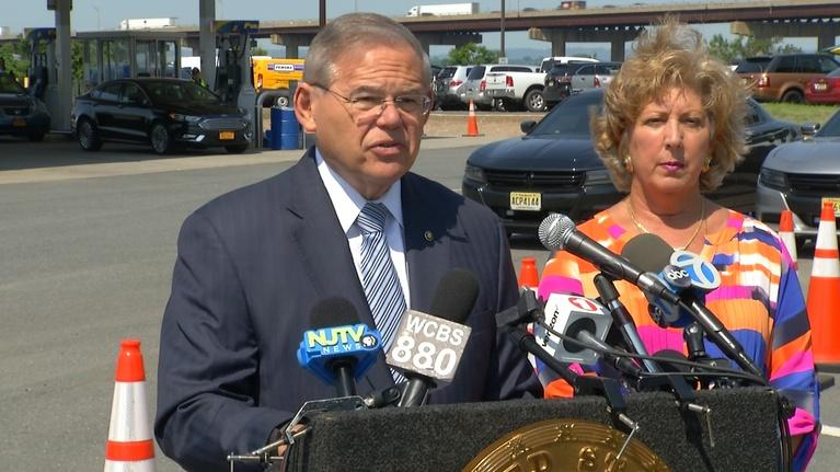 NJTV News: Menendez calls on Trump to act on spiking gas prices