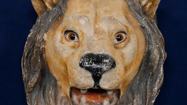 Appraisal: Early 20th C. Circus Lion's Head