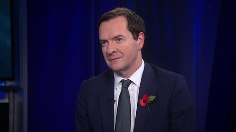 "Amanpour and Company -- George Osborne: ""Boris Johnson Has Taken a Very Big Gamble"""