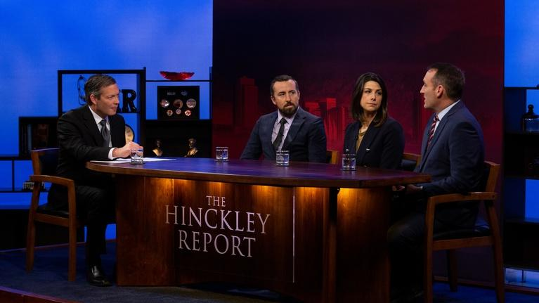 The Hinckley Report: Big Developments In Governor's Race and Legislative Session