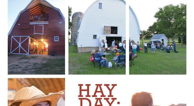 Hay Day: Musical Barns Of North Dakota: Hay Day: Musical Barnes Of North Dakota