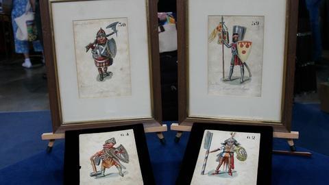 Appraisal: 1837 Mardi Gras Costume Designs