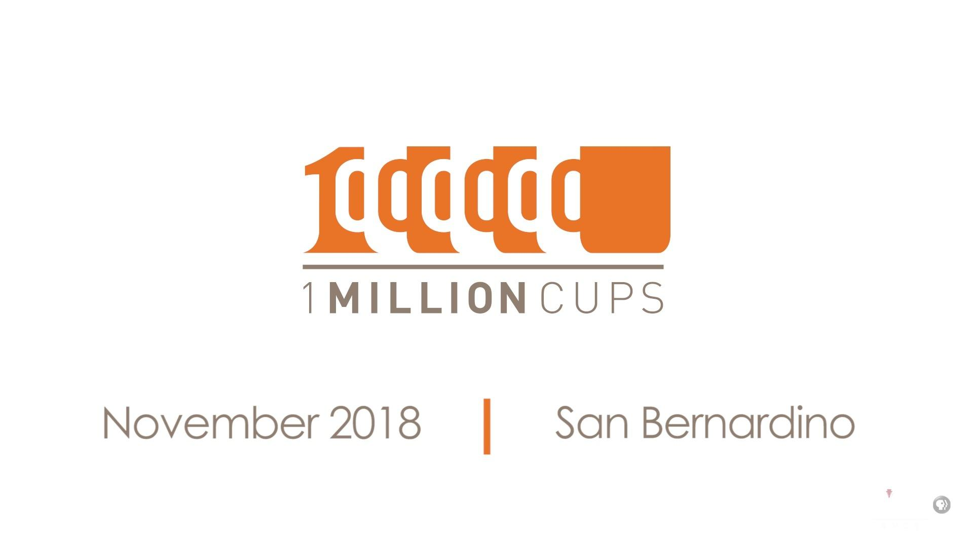 One Million Cups November 2018
