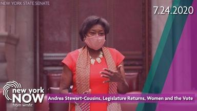 Senate Leader Andrea Stewart-Cousins, Women and the Vote