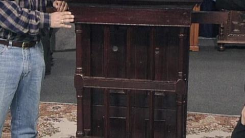 Antiques Roadshow    Appraisal: 18th Century Spanish Colonial Window Fixture
