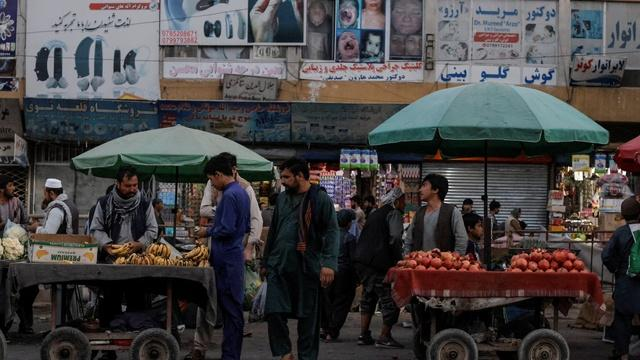 Crumbling Afghan economy complicating foreign aid efforts