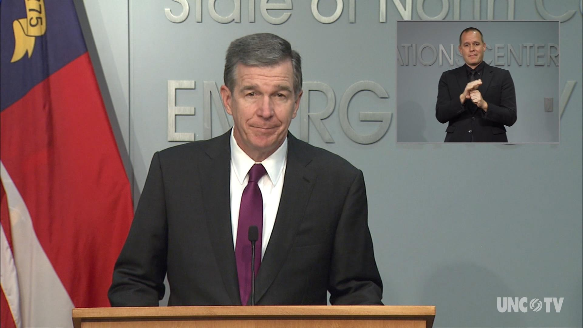 09/22/20 Governor Cooper Briefing (English)
