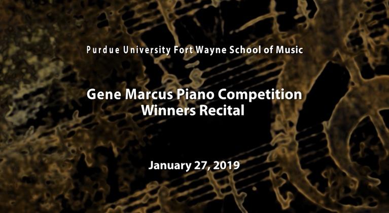 WFWA PBS39: 2019 Gene Marcus Piano Competition