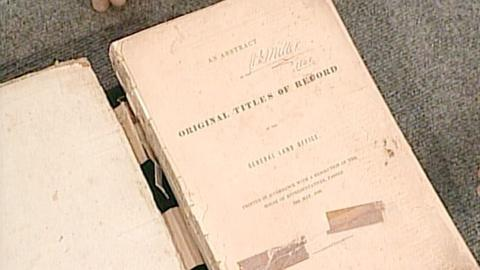 Antiques Roadshow -- S21 Ep21: Appraisal: 1838 Texas Land Office Book