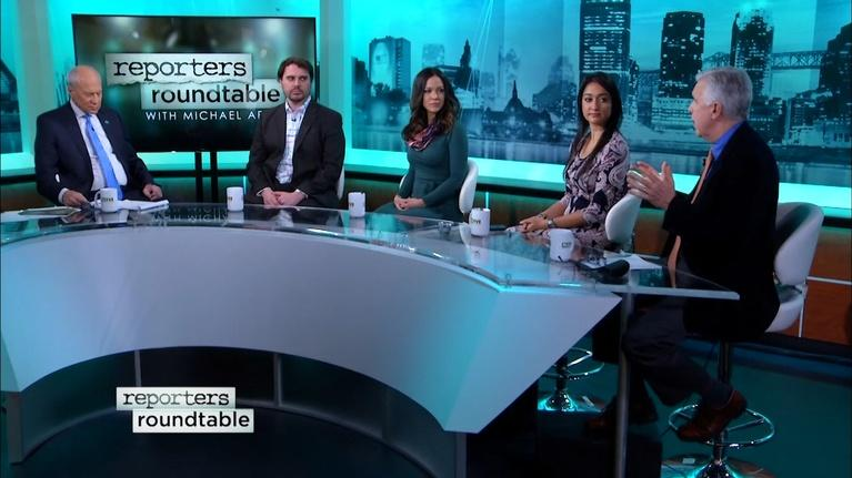 Reporters Roundtable: The first 100 days, and 'severe admonishment' for Menendez
