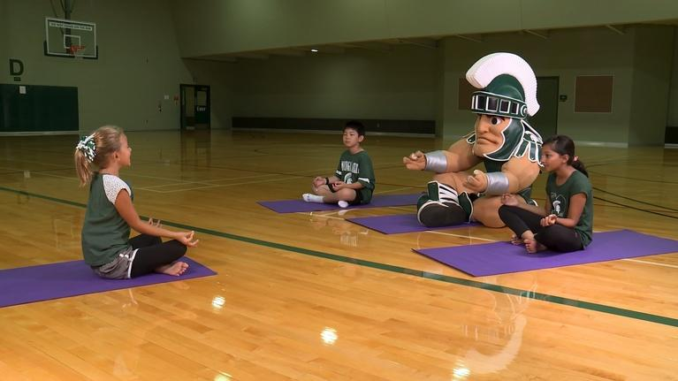 WKAR Family: Yoga Zen Time With Kids | Sparty Time!