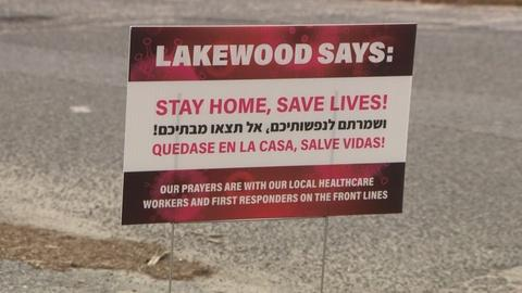 Lakewood battles compliance with social distancing order