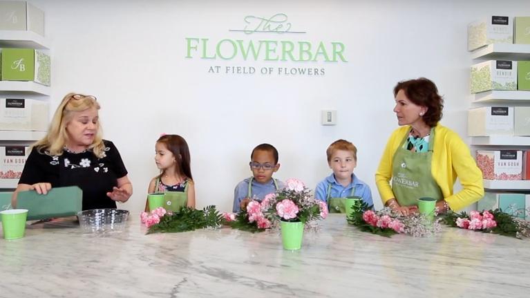 KidVision Pre-K: Flower Shop Field Trip | KidVision Pre-K
