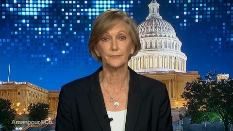 """Amanpour and Company -- Nancy McEldowney on """"Complete Chaos"""" in Northern Syria"""