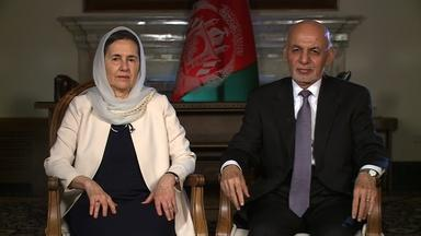 A Rare Interview with Afghanistan's President and First Lady